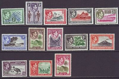 Solomon Islands 1939 SC 67-79 MH Set