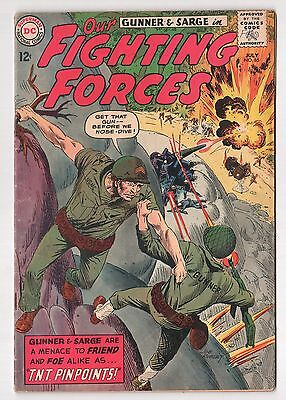 Our Fighting Forces #85 (1954 Series) DC Comics July 1964 VG