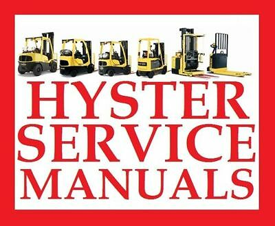 Hyster Forklift Truck Workshop Service Repair Manual ..... Class I Ii Iii V Iv