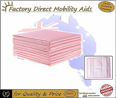 Absorbable Bed Cover Protector - disposable Pinkie Pinkies 3 sizes Bulk Packs