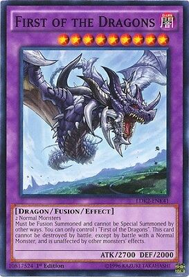 First of the Dragons (LDK2-ENK41) - Common - Near Mint - 1st Edition
