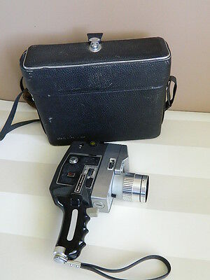 Bell & Howell Autoload Video Camera Autoload with 8mm Cartridge & Authentic Case