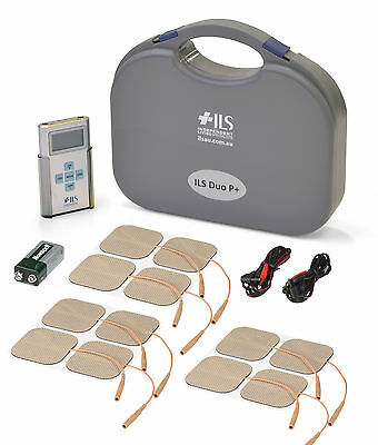 Dual Channel TENS Machine Pain relief – FREE 12 Pads Premium Display New Model