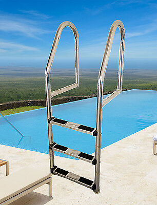 316 Stainless Steel 3 Step Swimming Pool Ladder
