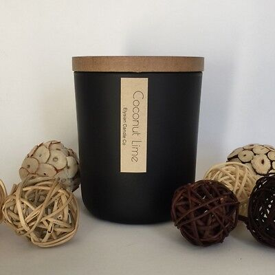 Natural Soy Candle 70hr - Wood Wick - Combined Postage