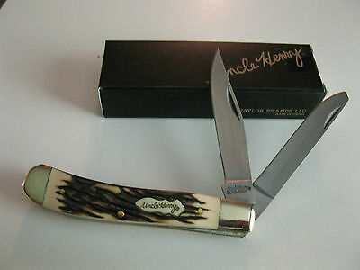 Uncle Henry Trapper Pocket Knife 285UH By Schrade New With Box