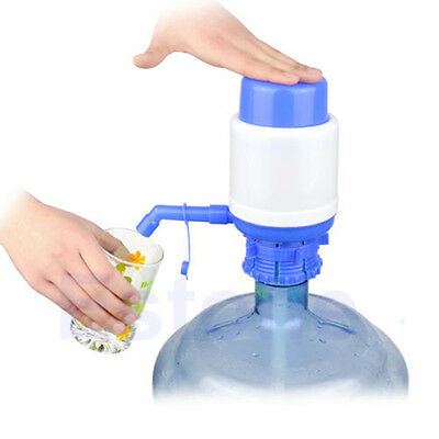 5 Gallon Bottled Drinking Water Hand Press Manual Pump Dispenser Large