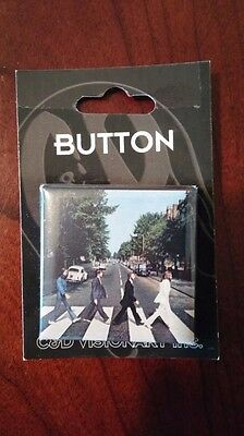 Beatles Abbey Road Button/Pin by C&D Visionary w/ FREE SHIP