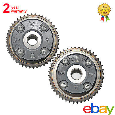 Pair Camshaft Adjusters For 2003-2005 Mercedes C230/W203 2710500800 2710500900