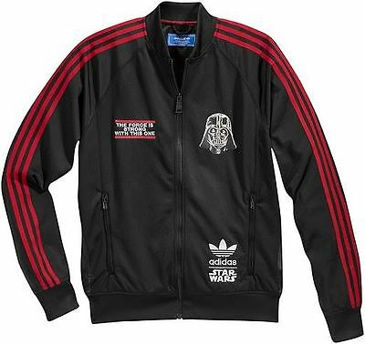 Adidas Star Wars Black Red Force Darth Vader Track Top Jacket