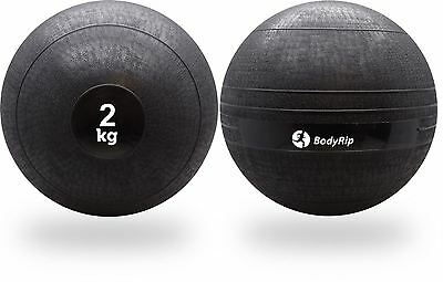 BodyRip 2KG SLAM BALL NO BOUNCE WEIGHT CROSSFIT WORKOUT MMA BOXING FITNESS GYM