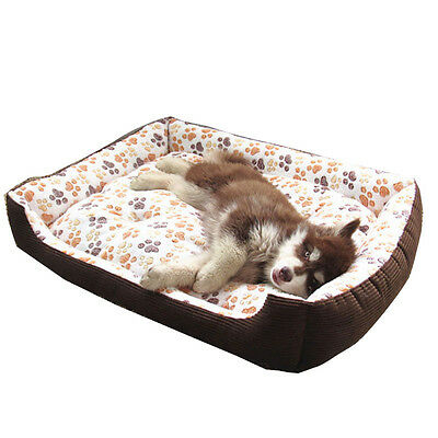 Large Dog Bed Small Puppy Bed Soft & Warm Kennel Cat Pet Cot Oversize Medium
