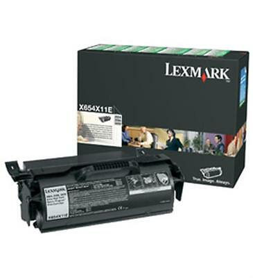 Lexmark X654X11E Toner For X658 (36000 pages, Black)