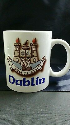 Dublin County GAA sublimation printed Gift Mugs