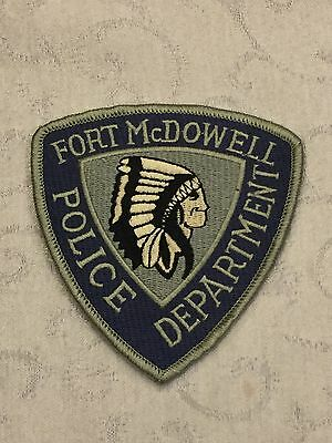 Defunct Tribe of Fort McDowell Arizona Old Style Police Tribal Patch