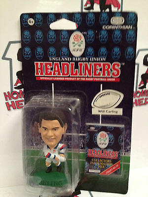 Corinthian Headliners England Rugby Union Will Carling Sealed In Blister Pack