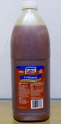 NEW Cottees Caramel Syrup 3 Litres 09/10/2017 For Milkshake and Desserts