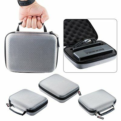 Silver EVA Carry Travel Case Cover Bag For Bose-Soundlink Mini I II Speaker