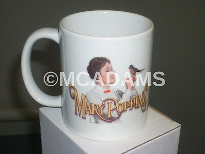 Mary Poppins Julie Andrews Classic Dvd Movie Inspired Practically Perfect Mug 1