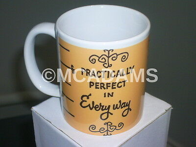 Mary Poppins Julie Andrews Classic Dvd Movie Inspired Practically Perfect Mug 5