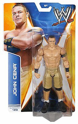 WWE Action Figure JOHN CENA 18CM by MATTEL BHM07 Wrestling