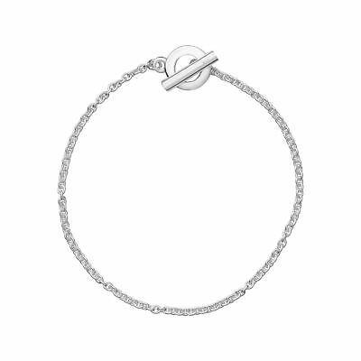 Links of London Womens Essentials Chain Bracelet 18cm Sterling Silver Jewellery