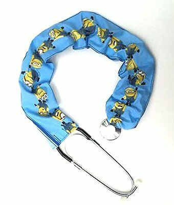 Stethoscope Covers Handmade Variety Patterns 100% Cotton Blue Minions