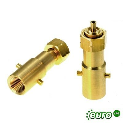 UK Bayonet Filling Adapter to Shell Gas Bottle Inlet, adapter to DIN type bottle