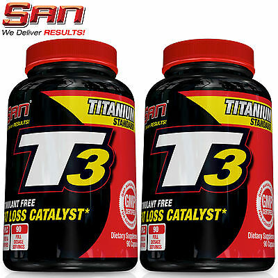 T3 Supplement Fat Burner Weight Loss Slimming Thyroid Support Metabolism Boost