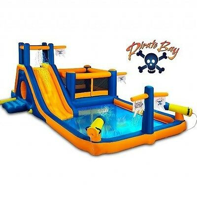 Inflatable Bounce House Combo Water Park Kids Waterslide Bouncer Outdoor Jumper