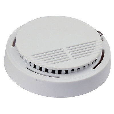 315MHZ 2x Smoke Detectors Fire Alarm Ionisation High Stable White Smoke Detector