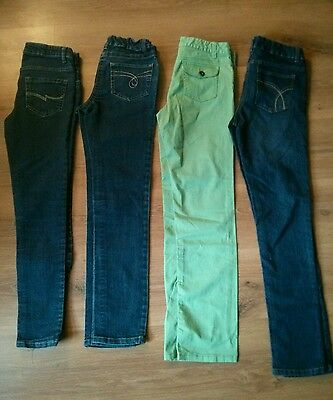 Lot of 4 Size 14 and 16 Girls Jeans Lot Nevada Lucky Nevada 3x14 1x16