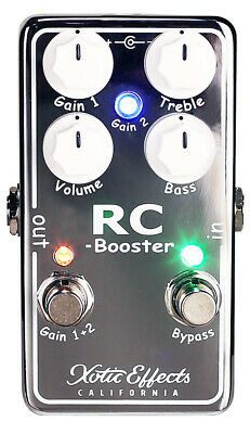 Xotic Effects RC Booster V2 boost pedal - free US shipping!