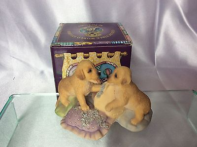 Collectible World Studios Gorgeous Puppy Pillow Fight
