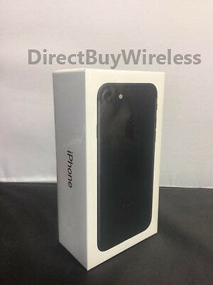 New Apple iPhone 7 128GB FACTORY Unlocked Black Smartphone (AT&T T-Mobile)