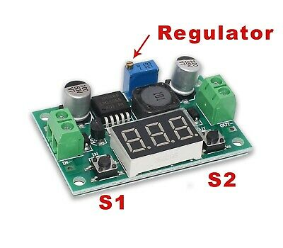LED LM2596 Voltage Regulator buck converter module 4-40V in 1-35V out