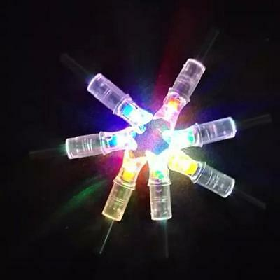 3pc automatically bowstring activated lighted led arrow nocks for crossbow arrow