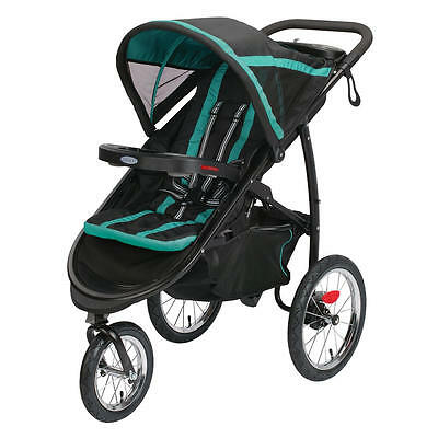 Graco FastAction Fold Click Connect Jogger Stroller - Tropical