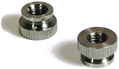"""Stainless Steel Knurled Nut 5//16-18 5//16/"""" x 18tpi Quantity 10"""