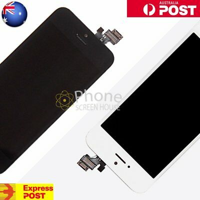 LCD Digitizer Glass Touch Screen Display For iPhone 5 Replacement Black White AU