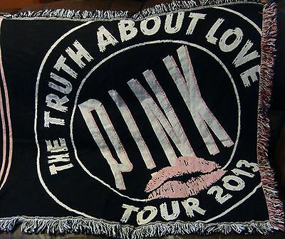 PINK The Truth About Love Tour Blanket 2013
