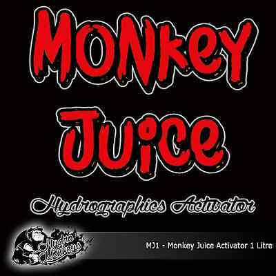 1 Litre of Monkey Juice Activator - hydrographics water transfer