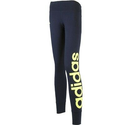 Adidas ESS Linear Tight Damen Trainingshose blau Leggings Tight NEU