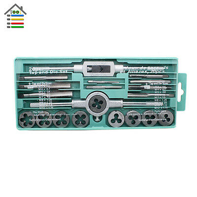 1set/20pcs  M3--M12 Adjustable T-hand Tap and Die Wrench set