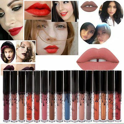 16 Colors Waterproof Makeup Matte Lip Liquid Lipstick Long Lasting Lip Gloss Hot