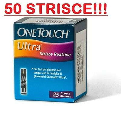 One Touch Ultra 50 Strisce Reattive Lifescan