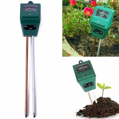 3 in 1 PH Tester Test Meter for Garden Plant Flower Thermometer Whistle Lot