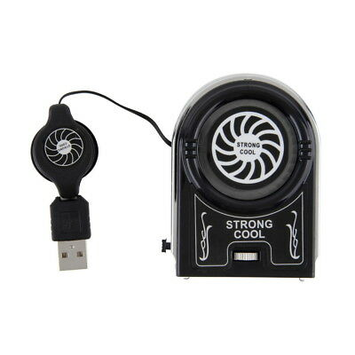 Protable  Vacuum USB Cooler Air Extracting Cooling Fan for Notebook Laptop Lot