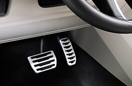 Land Rover Discovery Sport & Evoque Bright Finish Sport Pedal Covers- VPLHS0044