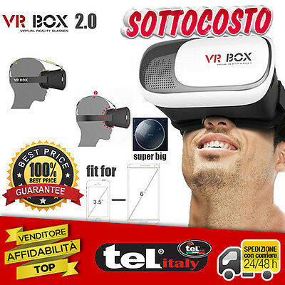 VR BOX Vision - Trasforma immagini e video di iPhone e Smartphone in 3D!